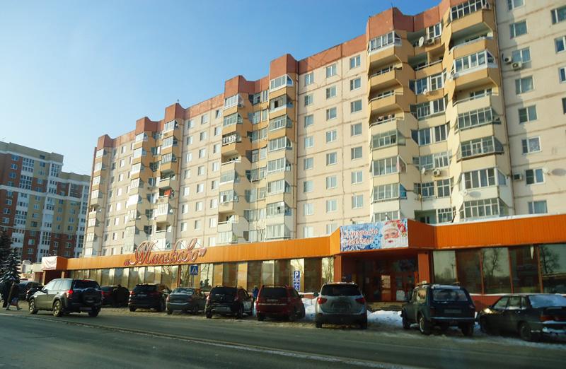 ПВХ окна на улице Жукова, 14 (здание рынка Мальково) до