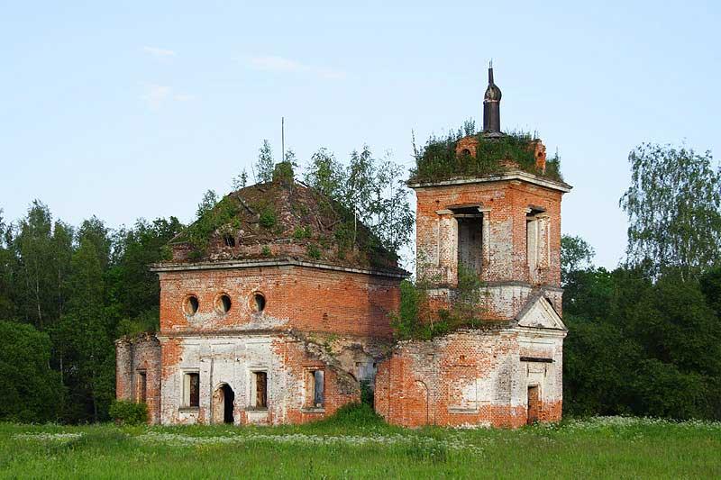 Остекление церкви, участие в реконструкции до