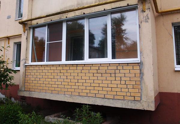 Остекление балкона на ул. Шибанкова, г. Наро-фоминск