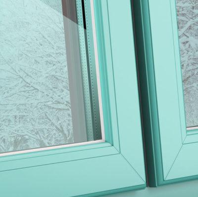 Бирюзовые окна