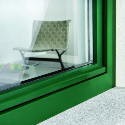 Зелёные окна