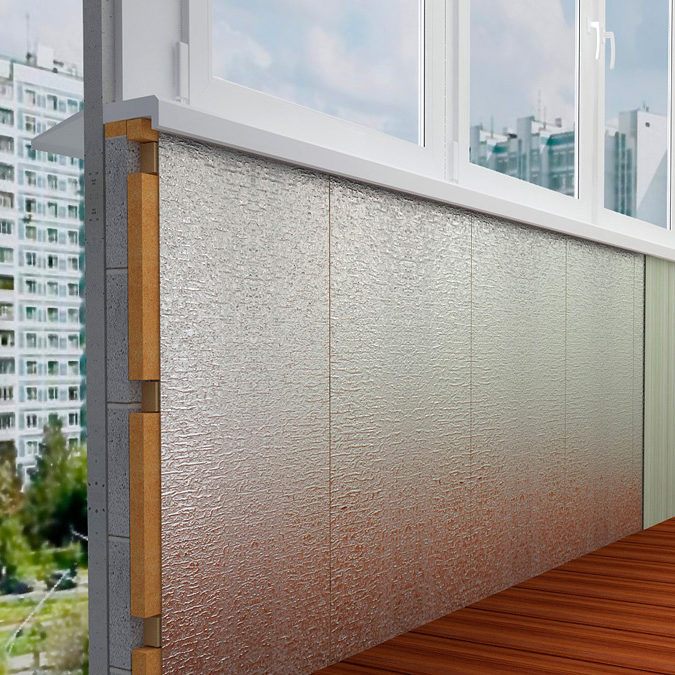 Утепление балкона пенофолом фольгированным