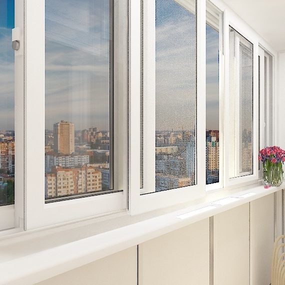 остекление балкона в Наро-Фоминске