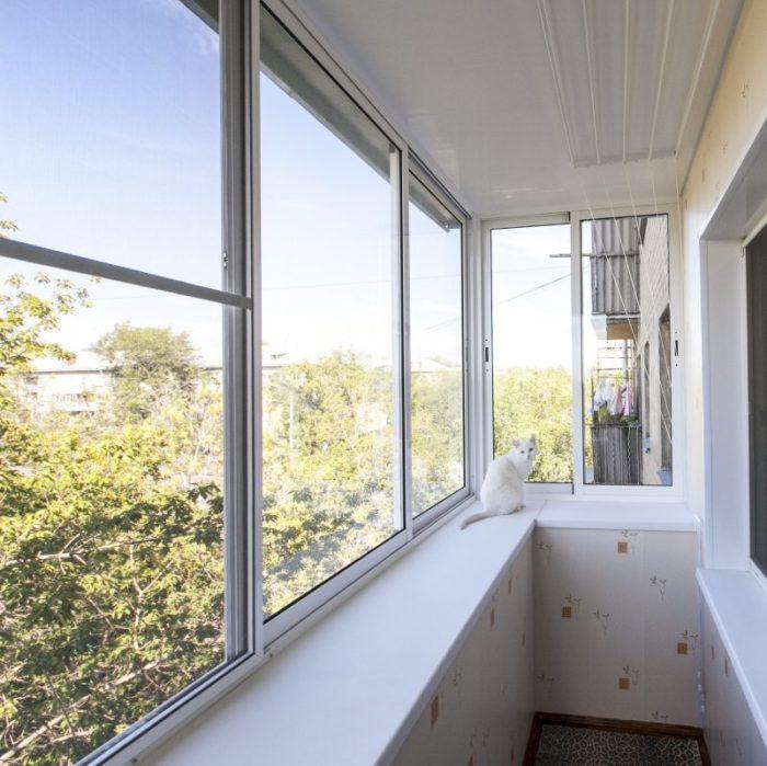 Алюминиевый раздвижной профиль Provedal для балконов