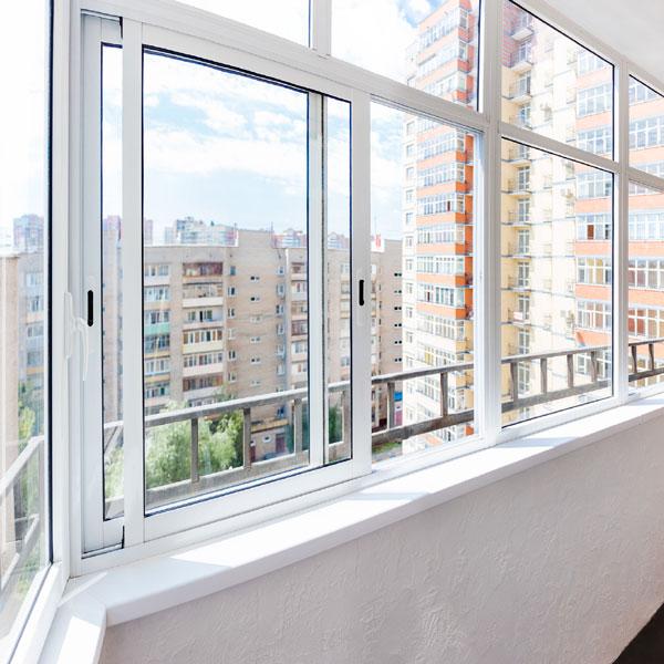 Алюминиевое остекление балконов Provedal - холодное, раздвижное